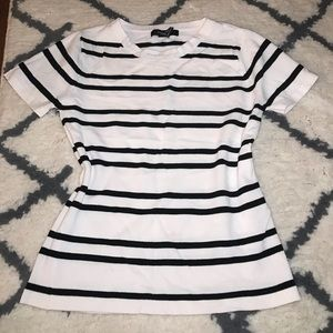 F21 stretchy striped T-shirt